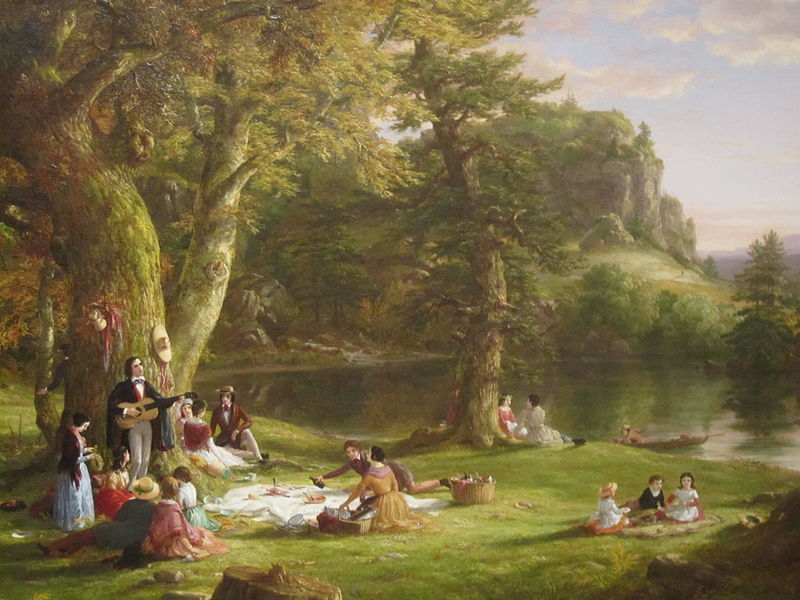"Thomas Cole's ""The Picnic"""