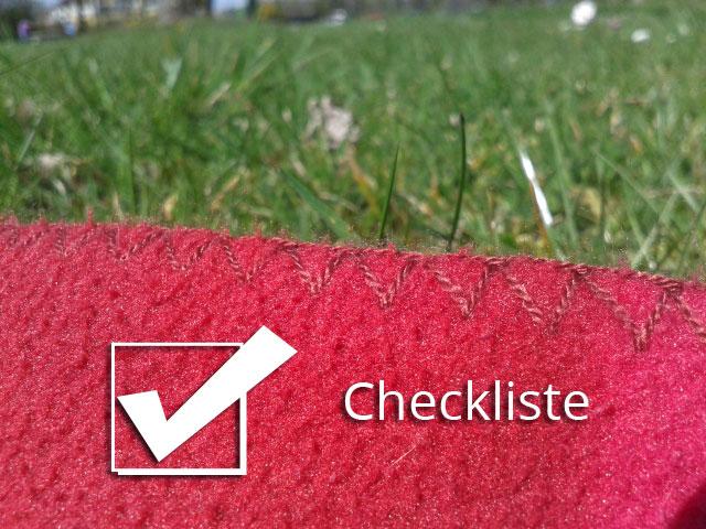 Checkliste Picnick